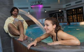 Romantique Relaxation au spa pres le Grand Hotel Terme Roseo